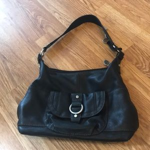 Black Leather fossil purse